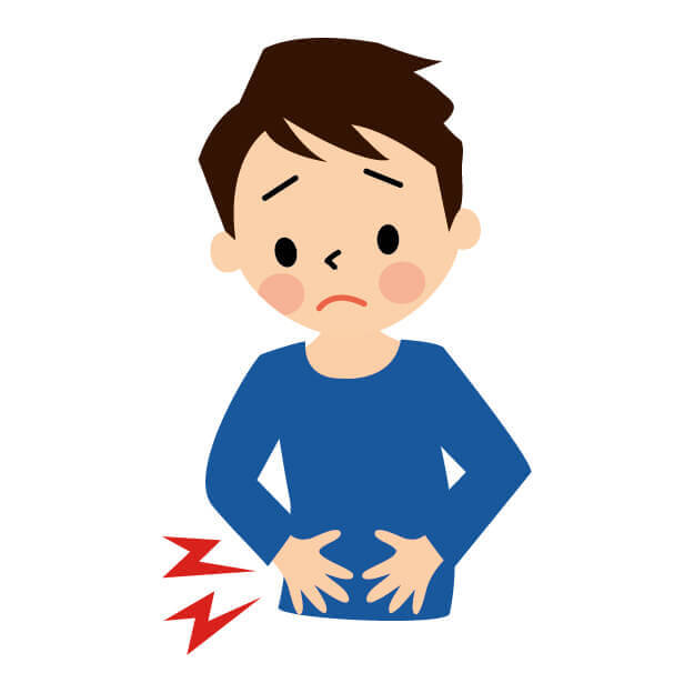 ノロウイルス 腹痛